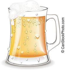 Pint Beer vector