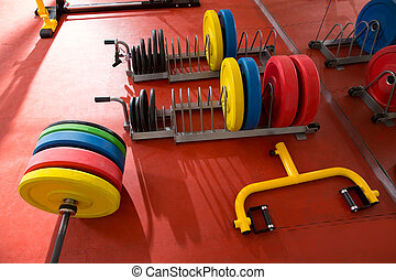 Crossfit fitness gym weight lifting bar equipment - Crossfit...