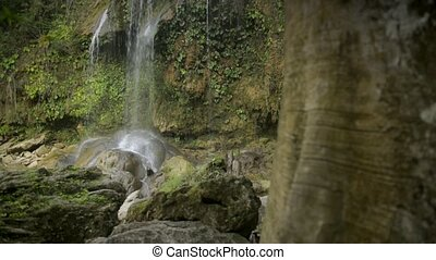 Views of the Soroa Fall, Cuba - Cuban natural landscape,...