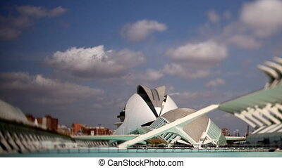 The city of science and arts, La Ciudad de las Artes y de...