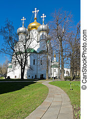 Novodevichy Convent, Russia - Novodevichy Convent in Moscow,...