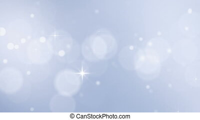 hristmass snowfall with sparkles - loopable backgrounds