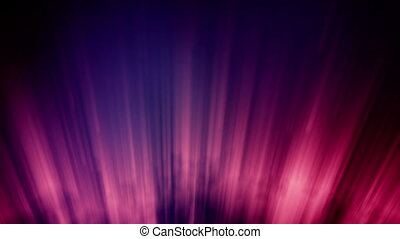 loopable purple shininng lights - loopable aurora...