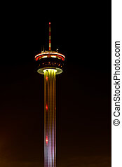 Tower of Americas in downtown San Antonio, TX