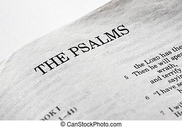 les, psaumes