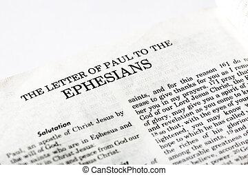 Livre, Ephesians
