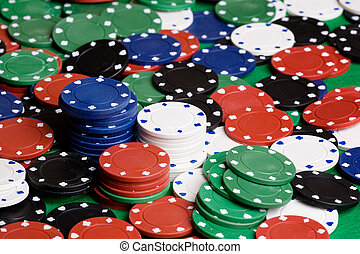 Casino Chip Background