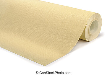 Roll of wallpaper