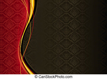 Horizontal Wallpaper Background, vector
