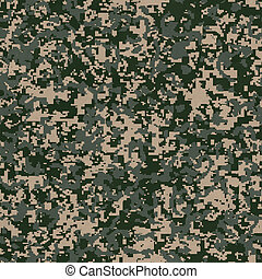 Military Fabric Pattern Seamless Texture - Military Fabric...