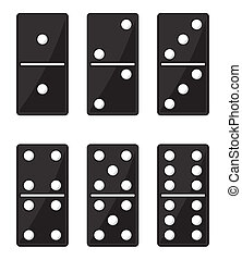 Domino black set