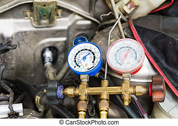 Repaired air car components - Compressed air car components...