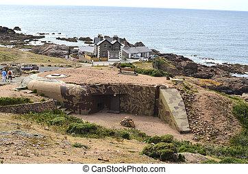 UK, Jersey - Jersey, La Corbiere - German WWII bunker
