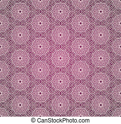 Seamless colorful retro pattern background, vector...
