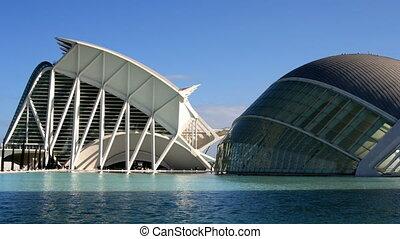 The city of science and arts, La Ciudad de las Artes y de...