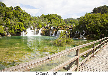 Krka National Park, Croatia - Waterfalls in national park