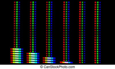 hi graphic equalizer great as a music related background