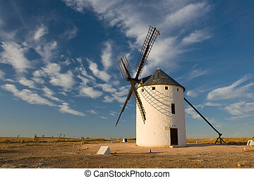 Windmills - Typical windmills of Region of Castilla la...