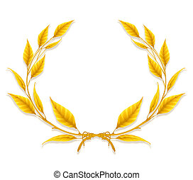 Laurel Wreath, Design Element