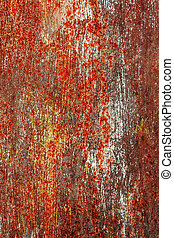 Corrosion painted metal background