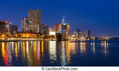 HO CHI MINH CITY SKYLINE Timelapse