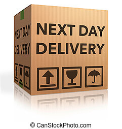 next day delivery urgent package shipment deliver order...