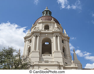 Pasadena City Hall Dome - Pasadena city hall cupola dome in...
