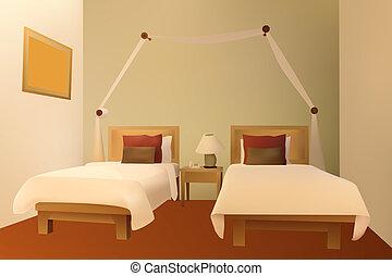 Bedroom - Modern bedroom