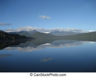 Lakeside Tranquility - picture was taken at Lake Kaniere...