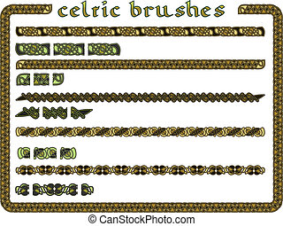 Celtic ornament in a vector seamless