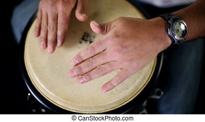 percussion musician performing CLIP INCLUDES HIGH QUALITY...