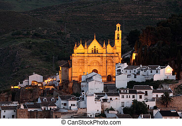 Church of Santa Maria in Antequera, Andalusia Spain