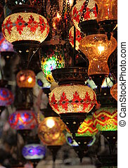 Turkish Laterns in Grand Bazaar, Istanbul