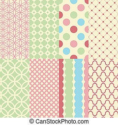 Shabby background - Colorful shabby background