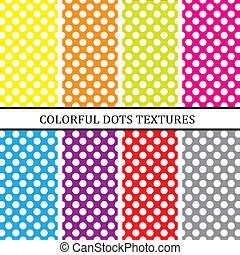 Dots background - Colorful dots background