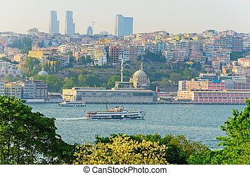 View from the Palace Topkapi Sarayi. - View from the Palace...