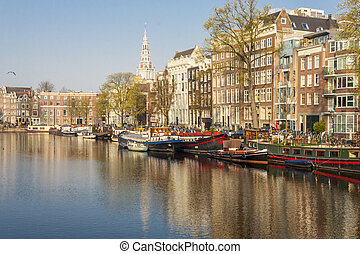 Old town of Amsterdam - Netherlands