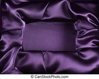 Silk opened box as background - Photo of silk opened box as...