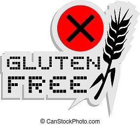 Gluten free - Creative design of gluten free