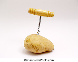 potato and corkscrews - 	
