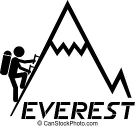 Climbing Everest - Creative design of climbing everest