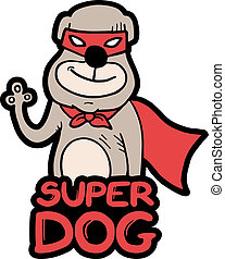 Super dog - Creative design of super dog