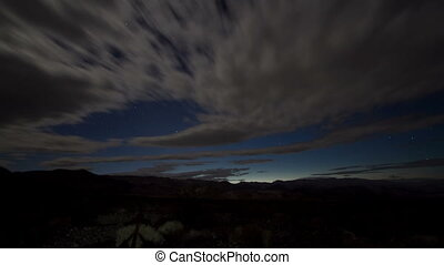 timelapse of stars at night in death valley, shot at super...