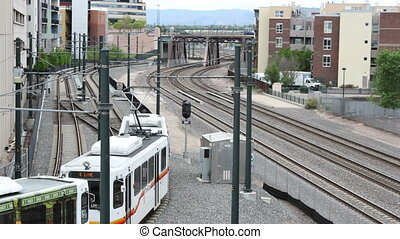 tram train in denver colorado