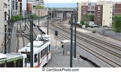tram train in denver colorado