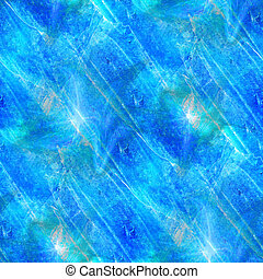 hand blue paint background art seamless wallpaper watercolor...