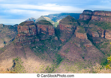 Drakensberg, Blyde River Canyon,South Africa, Mpumalanga,...