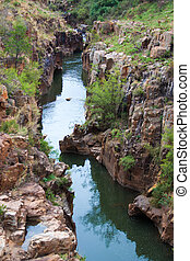 Blyde River Canyon,South Africa, Mpumalanga, Summer...