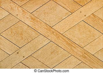 Patern - Wooden floor tile pattern