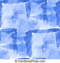 paint blue hand background art seamless wallpaper watercolor...